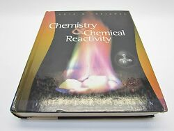 Chemistry And Chemical Reactivity 5th Fifth Edition And 2 Discs Kotz Treichel Vgc