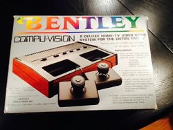 bentley compu vision 1983 pong in box