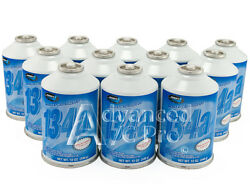 12 Cans of 12oz each  1 Case of R134a Johnsen's Automotive Refrigerant AC AC