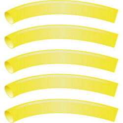 5 Pack Yellow 1 Inch X 48 Inch 31 Heat Shrink Tubing With Sealant For Boats