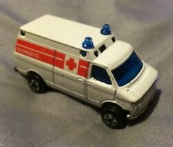 zylmex white ambulance van no p346 hong