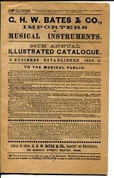 catalog ghw bates co musical instruments