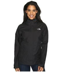 The North Face Women#x27;s Venture 2 Jacket Waterproof Shell DryVent TNF Black NWT $79.20