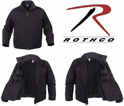 Rothco Menand039s Black Coyote Tactical Lightweight Concealed Carry Jacket Coat 5958