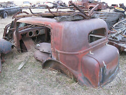 1934 Nash Twin Ignition Straight 8 Brougham Club Sedan 1932 1933 Hot Rat Rod