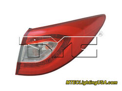 TYC NSF Right Side LED Tail Light Assembly for Hyundai Tucson 2014-2015