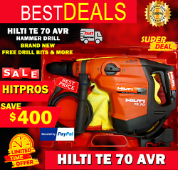 Hilti Te 70 Avr Combihammer Brand New Free Drill Bits And More Fast Shipping