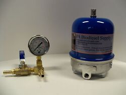 120 Gph Centrifuge W/brass And Gauge For Wvo /oil And Biodiesel