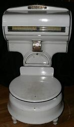 Dayton Porcelain Commercial Antique Industrial Grocery Store Scale