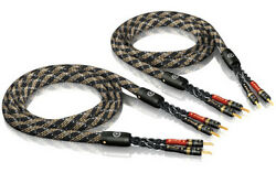 Viablue Sc-4 Silver Series Single-wire Speaker Cable In Lengths 4 11/12ft -