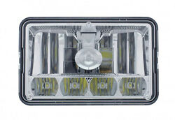 5 High Power Led 4 X 6 Crystal Headlight - High And Low Beam