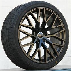 Set4 19x8.5 5x112 Rs Type Wheels And Tires Pkg Audi A5 S4 S5 Rs4 A4 R8 A6 Q5