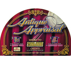 Igt I Game Plus Top Glass, Antique Appraisal 812-422-00