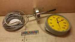 Nos Weksler Capillary Indicating Thermometer 81gn-n00r-w65y 6685004040575