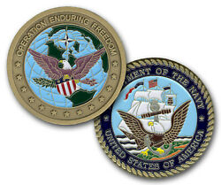 Us Navy Operation Enduring Freedom Challenge Coin