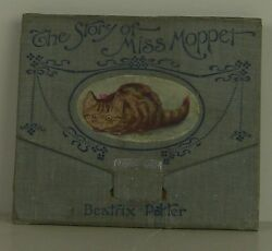 BEATRIX POTTER The Story of Miss Moppet FIRST EDITION