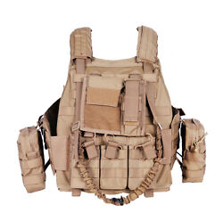 Military Vest Carrier Outdoor Tactical Sports Tactical Molle Gear Vest 14122
