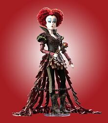 New 2016 Disney Alice Through The Looking Glass - Red Queen 17 Doll Le 4000 Mib