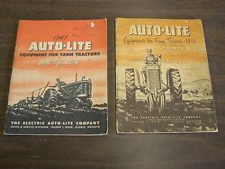 Oem Ford 1947 + 1951 Tractor Equipment Parts Books Manuals Numbers Illustrations
