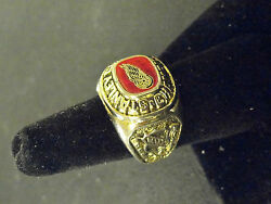 1997 Detroit Red Wings Stanley Cup Ring Size 7 3/4 Perfect And Cup Sports Ill Mag