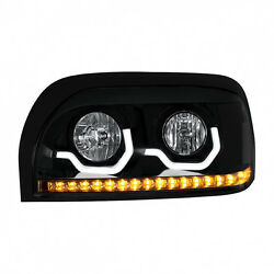 Freightliner Century Blackout Projection Led Headlight - Driver Side