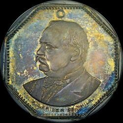 FINEST & ONLY 1888 GROVER CLEVELAND NGC MS65
