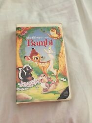 9 Disney Vhs Tapes Some Are Rare