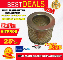 Hilti Main-filter Replacement For Dsh 700 And Dsh 900, Original Package, Fast Ship