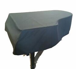 Steinway Mackintosh Grand Piano Cover - For 5'1 Steinway Model S Black