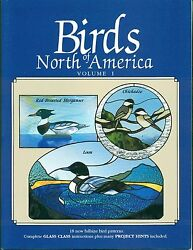 Birds Of North America Vol. 1 Stained Glass Pattern Book Birds Ducks Decoys