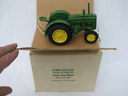 Styled John Deere D 1989 Land Of Lincoln Toy Show Tractor By Nbandk 1/16 Nib Mib
