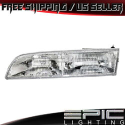 1992-1997 Ford Crown Victoria Headlight Headlamp - Left Driver Side Lh