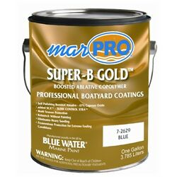 Marpro Antifouling Paint Black Super-b Gold With Scx Slime Control Xtra 7-2633