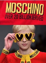 RUNWAY EXCLUSIVE Moschino Couture X JEREMY SCOTT FAST FOOD MCDONALD'S SUNGLASSES
