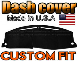 Fits 2016 - 2018 Honda Hrv Dash Cover Mat Dashboard Pad / Black