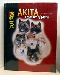 Akita-treasure Of Japan, Vol. 2 New In Publisher Plastic Wrapping
