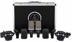 AKG C314 Matched Pair Stereo Set Condenser Mics. U.S. Authorized Dealer Open box