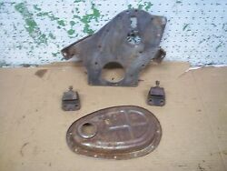 1967-1970 Triumph Spitfire Mkiii Front Engine Mount Plate Timing Cover 1969 1968