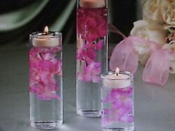 24 Glass Tealight Candle Holders Cylinders Vases Wedding Centerpiece Candle Cute