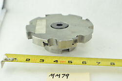Carboloy / Seco R335.18 Hn Indexable 8 Tool Slot Mill Slotting Cutter 5-5/8