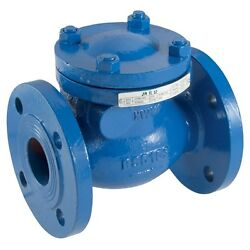 Cast Iron Pn16 Flanged Swing Check Valve Manufactured To Bs 5153 Model 170