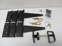 Shed Hardware Kit 8 Heavy Duty T Hinges Shed Doors Barns Gates Storage Shed