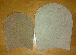 Extra Large Pointe Shoe Suede Covers/tips - Free Delivery. From £2.50 Pair. Lot