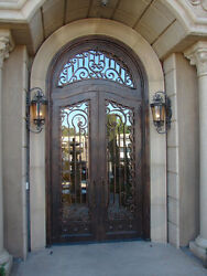 Custom Made Wrought Iron Doors by Monarch Custom Doors 12 Gauge Iron 76