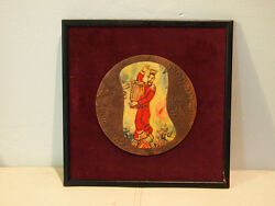 Marc Chagall King David Giant Copper Medal Modelia 1993 Free Shipping