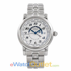Star Gmt Automatic Stainless Steel Silver Dial 106465