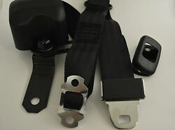 1967-1973 Chevelle Front 3-Point Seat Belts - GM Buckles (Bucket Seats)