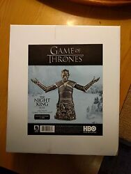Hbo Game Of Thrones The Night King Bust Silver Sdcc 2016 Exclusive Brand In Hand