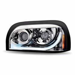 Freightliner Century Chrome Led Drl Turning Projection Headlight- Driver Side