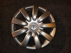 1 New 2004 04 2005 05 2006 06 Camry Hubcap 15 Wheel Cover 61136